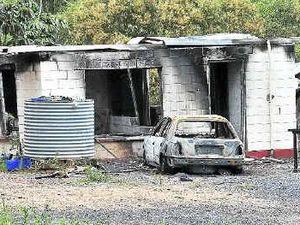 Police probe house blaze