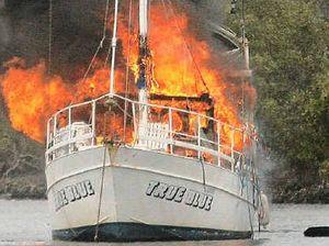 Boat blaze 'bloody unbelievable'