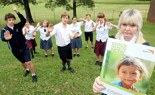 Murwillumbah student Jessica Young has planned a mime protest in Brisbane.
