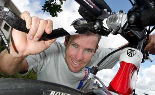 Triathlete Paul Matthews has hit a rich vein of form. D125963