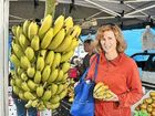 Banana shopping at Fisherman's Road markets yesterday