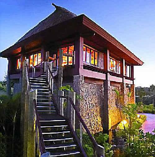 GORGEOUS VIEWS: The Kalokalo Bar on the hill.
