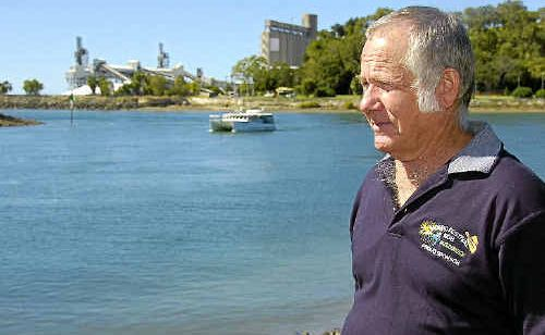 Clive Last found the dead dolphin and will be pleased to see an investigation is under way.