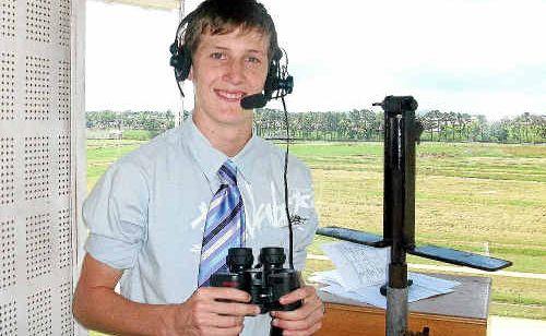 Rockhampton race caller Luke Marlow, 18, is in the running for the prominent SKY Racing's John Tapp Race Caller Scholarship.