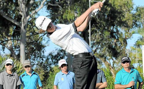 Jordan Curd was in good form at Capricorn Resort with nett wins on both the Resort and Championship courses.