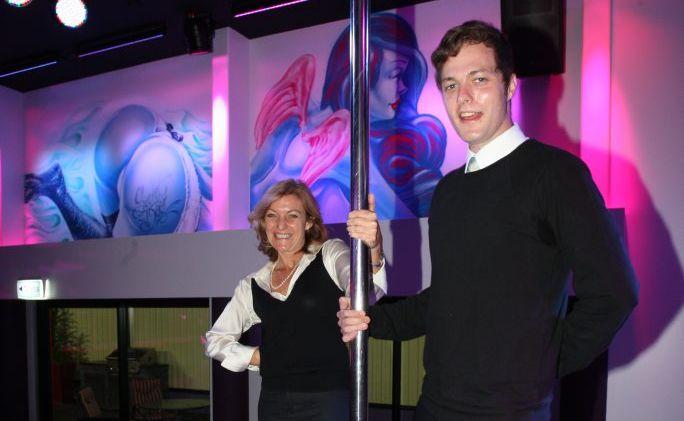 Australian Sex Party convenor Fiona Patten with State coordinator Rory Killen.