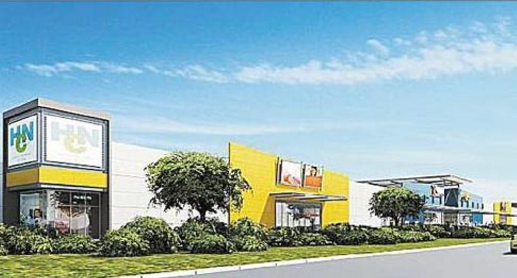 Homeware and furniture giants will set up shop at the Homemaker Centre which will be built at the corner of Holts Rd and Mackay-Bucasia Rd.
