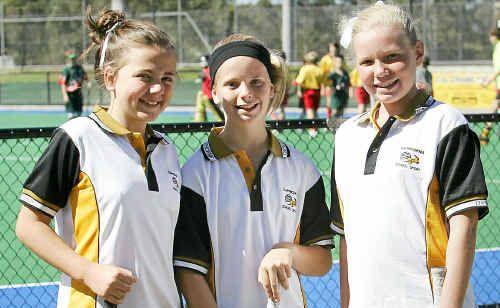 Rockhampton hockey stars Ebony O'Brien, Demi Roser and Alexandra Richards have helped Capricornia to an unbeaten start.