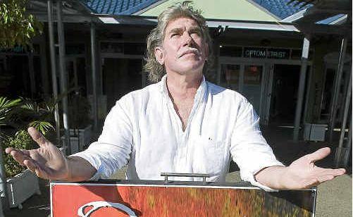 Glen Connor, owner of the Oasis restaurant.
