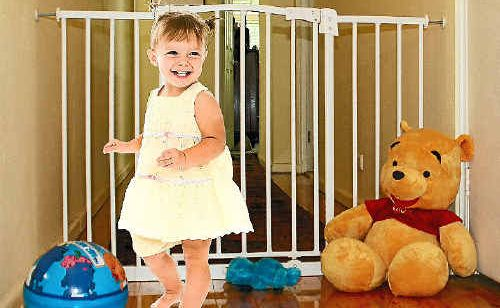 Safety gates can protect your child from potentially dangerous situations.