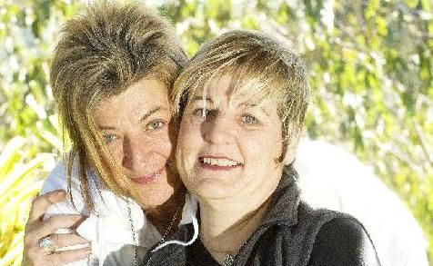 """Danielle Broadbent of Nimbin, with her partner Jeanette Murphy, would ask the Prime Minister: """"What happened to the progressive Julia?"""""""