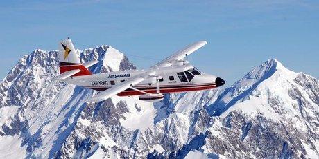Aerial views of the Alps put their grandeur in perspective.