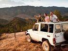 4WD ridgetop safari at Arkaba Station in the Flinders Ranges, South Australia.
