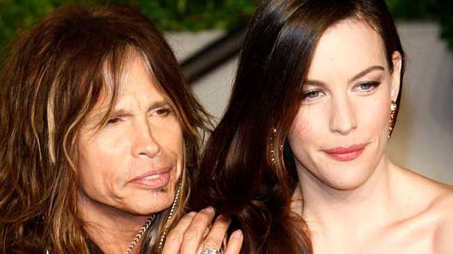 Liv Tyler and her dad, Steve Tyler.