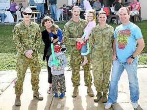 Reservists home after deployment