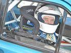 John Womersley in his Mark 2 Ford Escort at Morgan Park Raceway yesterday.