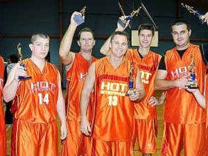 Hot Steppas slam dunk Giants