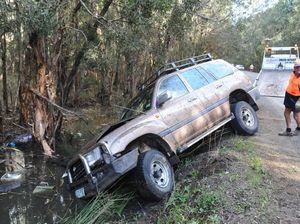Woman abandoned in swamp crash
