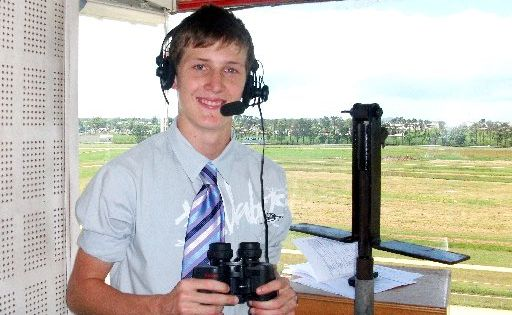 Luke Marlow has won the coveted John Tapp Race Calling Scholarship with Sky Channel in Sydney.