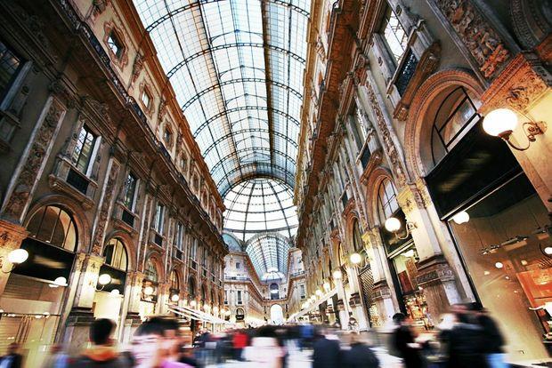 Milan Passage Vittorio Shopping Mall