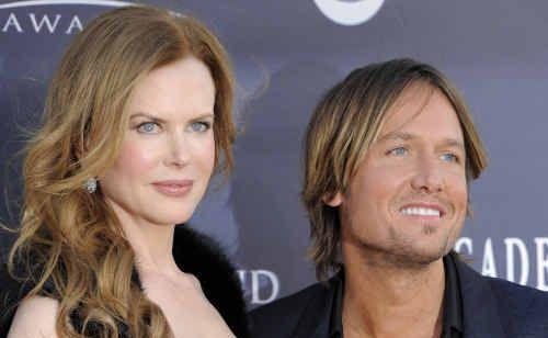 Nicole Kidman and husband Keith Urban.