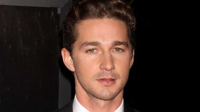 Transformers: Dark of the Moon star Shia LaBeouf.