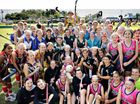 Nearly 1000 people have descended on the Gympie region for the Queensland Hockey under 13 girls championships hosted by the Gympie Hockey Association this week.