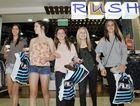 Mercedes Ash, 14, Madeline Hall, 14, Madeline O'OSullivan, 14, Madeline Stevens, 14, and Renee Wildman are enjoying the mid year sales at Stockland, Gladstone.