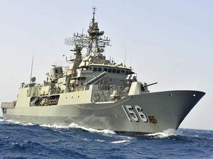 Sailor dies on HMAS Toowoomba