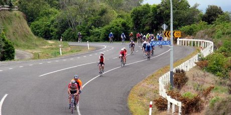 Biking is one of the Rotorua area's many attractions.