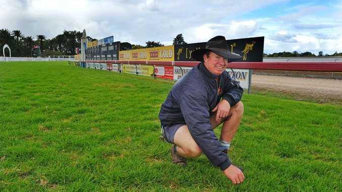 Grafton racecourse manager Drew Cookson.