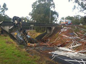 Two men killed in truck crash