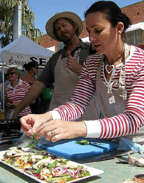 Gardener Phil Dudman and chef Julie Ray team up for their garden2kitchen show.