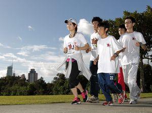 Marathon run for tsunami survivors