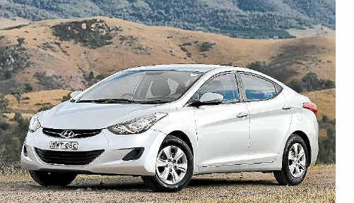 Hyundai has tuned the Elantra's suspension for Australian roads.