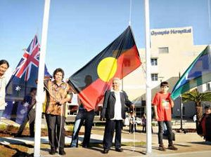 Flying flags for reconciliation