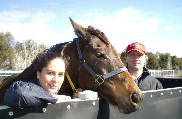 Rhys and Chloe Smith are hoping for big things from their trip to Grafton.
