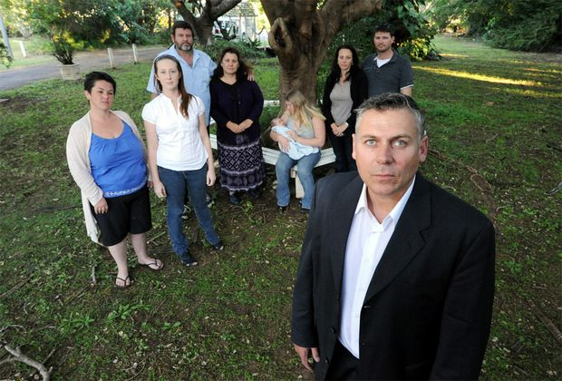 Member for Burnett Rob Messenger with former patients and staff of Bundaberg Hospital speak out.