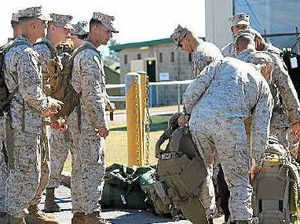 Marines here for army ops