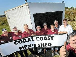 Men given shed space