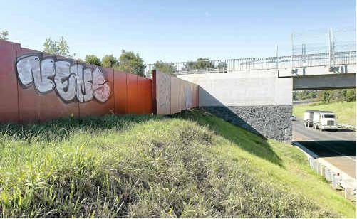 Graffiti on the Alstonville bypass.