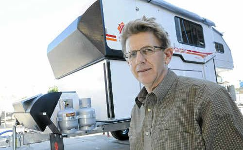 Kimberley Kampers owner Bruce Loxton is concerned the carbon tax will impact on the competitiveness of his business.