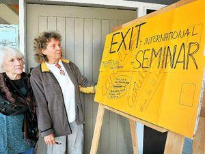 Euthanasia seminars still on