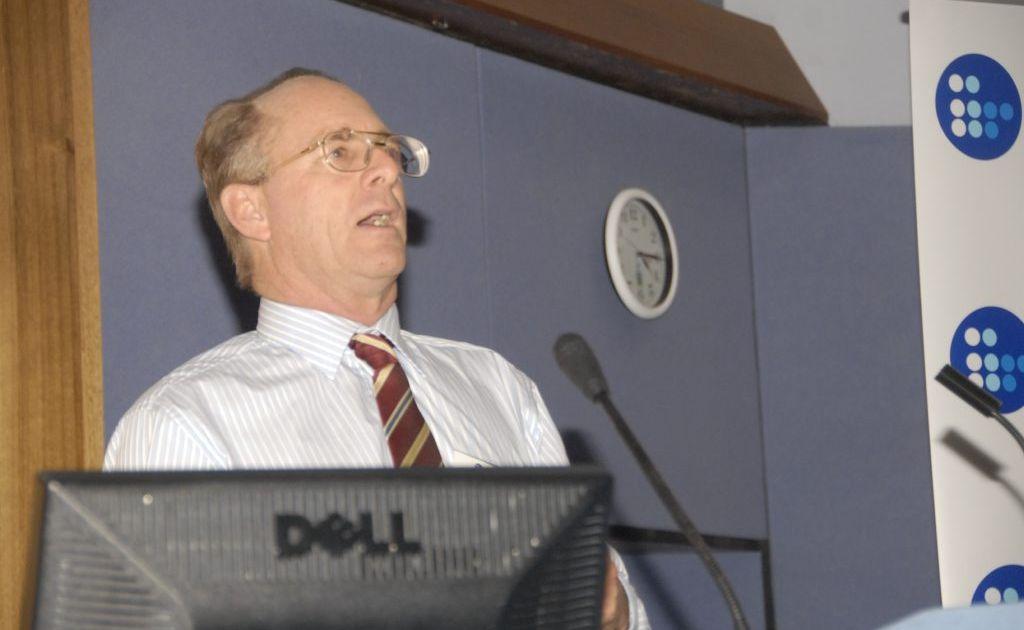 CQU Professor John Rolfe.