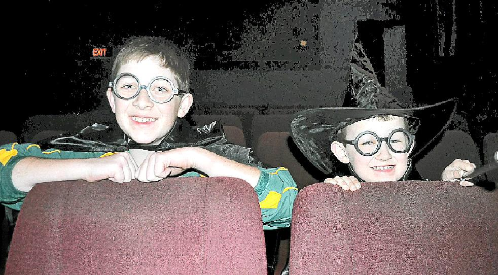 Brothers Jacob and Adam Baguley are looking forward to the final instalment of the Harry Potter films, released today.