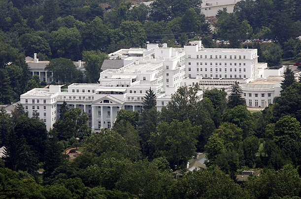 Greenbrier  Resort – America's oldest and most luxurious…and home to clandestine Cold War secret.