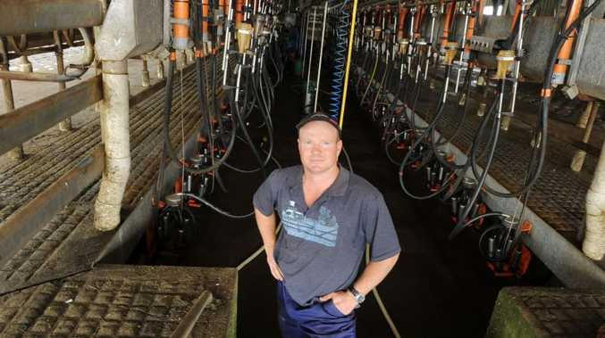 Tuncester dairy farmer Paul Weir is taking on Coles over milk pricing.