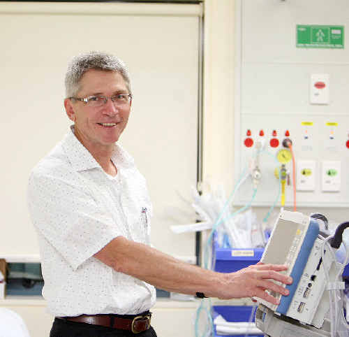 Dr Bert Sadlier is retiring after 26 years with Mackay Base Hospital, including 20 as director of the hospital's emergency department.