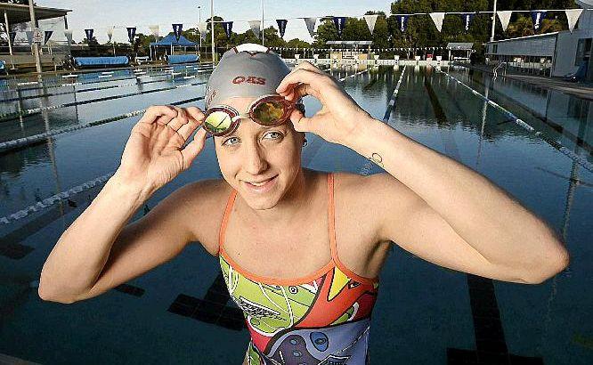 Coast swimming sensation Samantha Hamill.