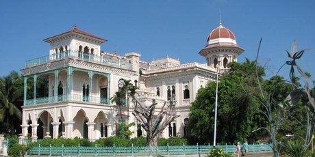 Palacio de Valle was once home to a wealthy sugar baron.